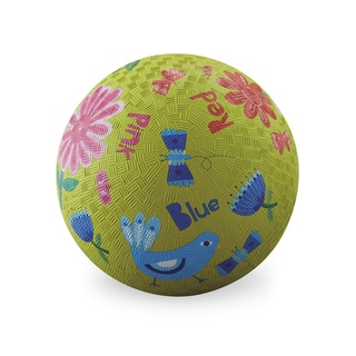 Crocodile Creek 7-inch Lime Green Garden Colors Playground Ball