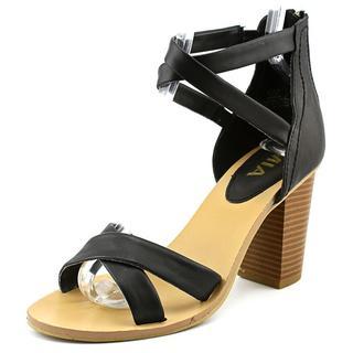 Mia Women's Sade Faux Leather Sandals