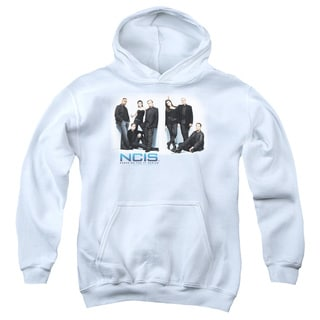 Ncis/White Room Youth Pull-Over Hoodie in White