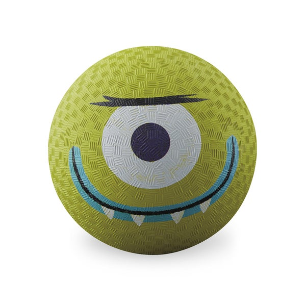 Crocodile Creek Creetures Lime Green Rubber 7-inch Alien Playground Ball