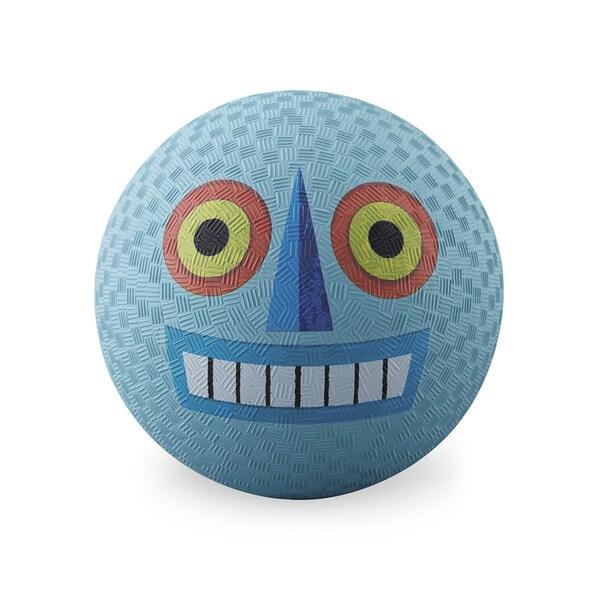 Crocodile Creek Creetures 7-inch Blue Robot Playground Ball