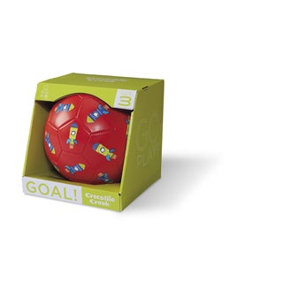 Crocodile Creek Kids' Rockets Red 7-inch Size 3 Soccer Ball