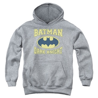 Batman/Dark Knight Jersey Youth Pull-Over Hoodie in Heather