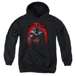 Batman/Red Knight Youth Pull-Over Hoodie in Black