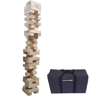 EasyGo Giant Stack Tumble Giant Wood Stacking Blocks Game