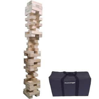EasyGo Giant Stack Tumble Giant Wood Stacking Blocks Game|https://ak1.ostkcdn.com/images/products/11875779/P18773525.jpg?impolicy=medium
