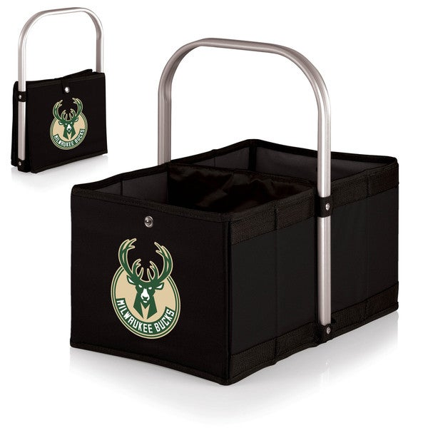 Picnic TIme Black Milwaukee Bucks Urban Basket