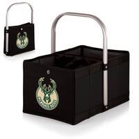 Picnic TIme Black Milwaukee Bucks Urban Basket