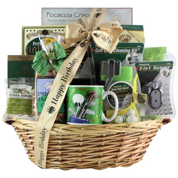 Shop Golfers Delight Birthday Gift Basket