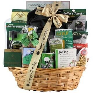 Deluxe Golfer Birthday Golf Gift Basket