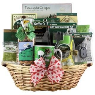 Golfer's Delight Golf Gift Basket