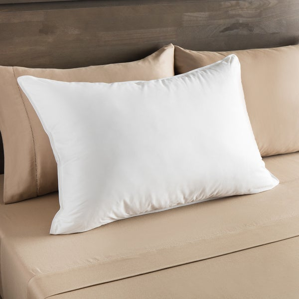 European Heritage Everest Firm Density Down Alternative Pillow - White