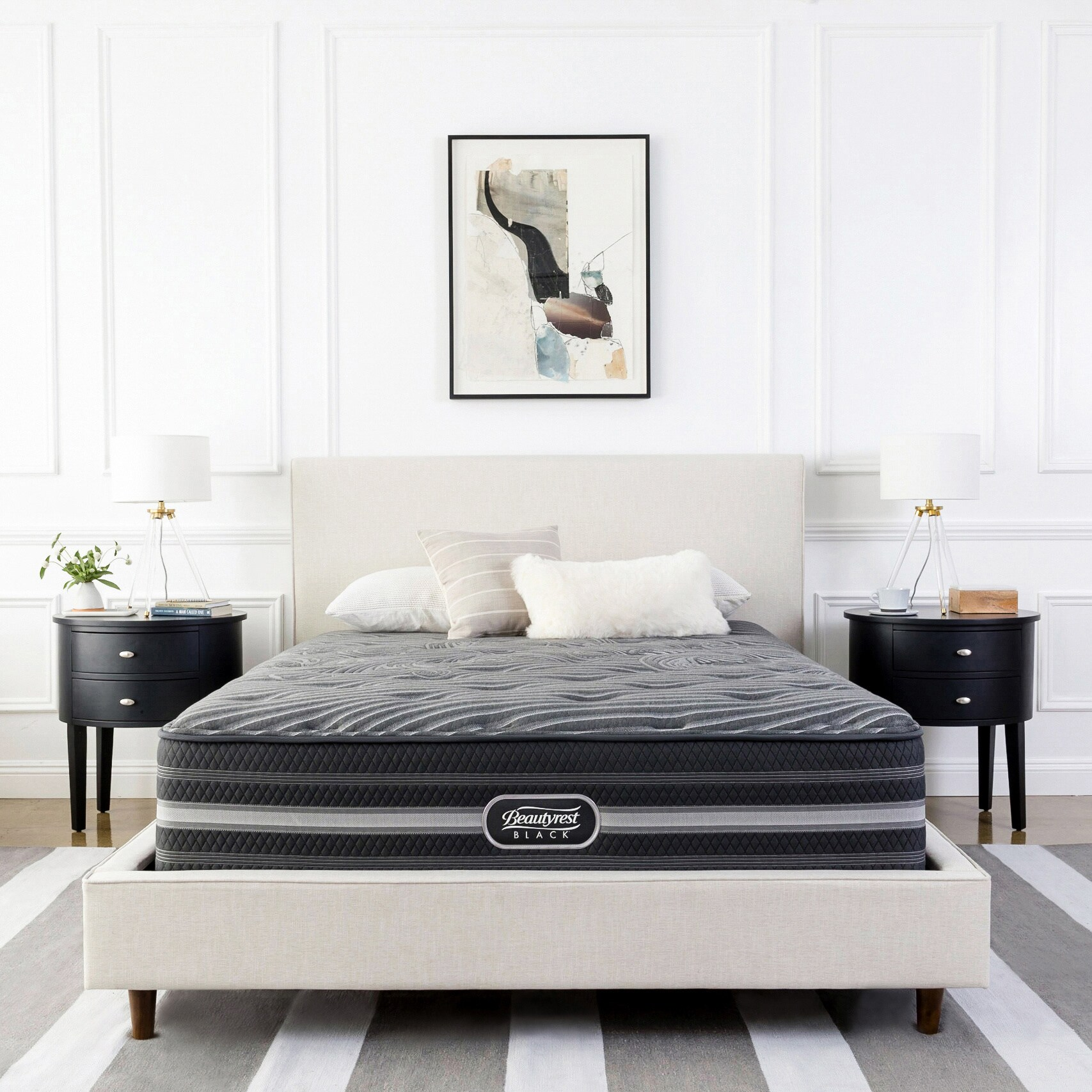 Simmons Beautyrest Beautyrest Black Desiree Luxury Firm K...