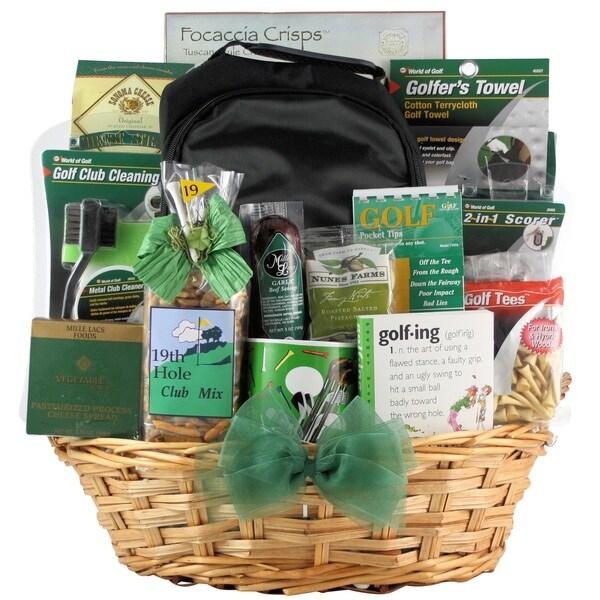 Deluxe Golfer Gourmet Golf Gift Basket