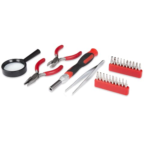 Stalwart Precision Electronics, Repair & Hobby Tool Set 25 PC