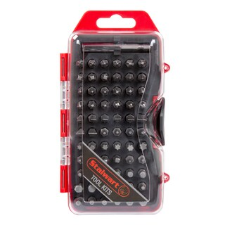 Stalwart Ultimate Compact Screwdriver Bit Set 67 PC