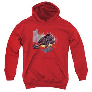 Dark Knight Rises/The Bat Youth Pull-Over Hoodie in Red