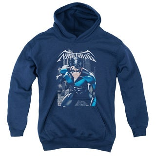 Batman/A Legacy Youth Pull-Over Hoodie in Navy