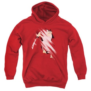 Samurai Jack/Slice and Dice Youth Pull-Over Hoodie in Red