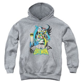 DC/Heroic Trio Youth Pull-Over Hoodie in Heather
