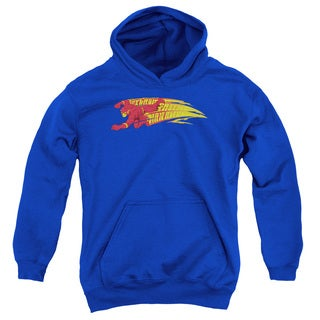 DC/Fastest Man Alive Youth Pull-Over Hoodie in Royal