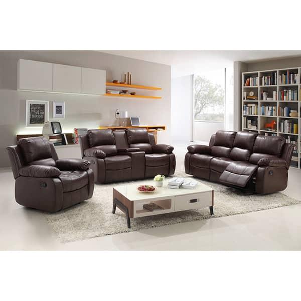 Fantastic Shop Madison Black Brown Wood Bonded Leather Modern Living Ibusinesslaw Wood Chair Design Ideas Ibusinesslaworg