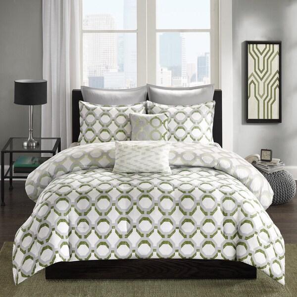 Intelligent Design Matilda Green 5-piece Comforter Set
