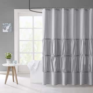 Mi Zone Delia Microfiber Shower Curtain 3-Color Option|https://ak1.ostkcdn.com/images/products/11877386/P18774956.jpg?impolicy=medium