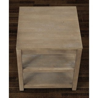 Tacoma Weathered End Table