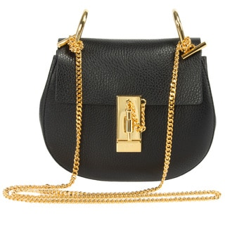 Chloe Drew Black Small Chain Shoulder Handbag