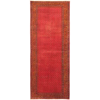 eCarpetGallery Hand-Knotted Persian Vogue Brown, Red Wool Rug (3'10 x 9'11)