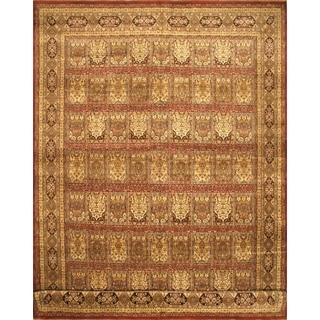 eCarpetGallery Mirzapur Brown Hand-knotted Wool Rug (11'7 x 17'4)