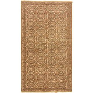 eCarpetGallery Antique Anatolian Hand-knotted Beige Wool Rug (3'5 x 6'2)
