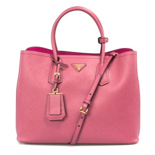 Prada BN2756 Pink Saffiano Cuit Leather Bag
