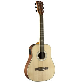 Eko Guitars 06217132 TRI Series Natural Mini Dreadnought Acoustic-Electric Guitar