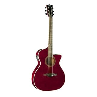 Eko Guitars 06217124 NXT Series Wine Red Auditorium Cutaway Acoustic-Electric Guitar
