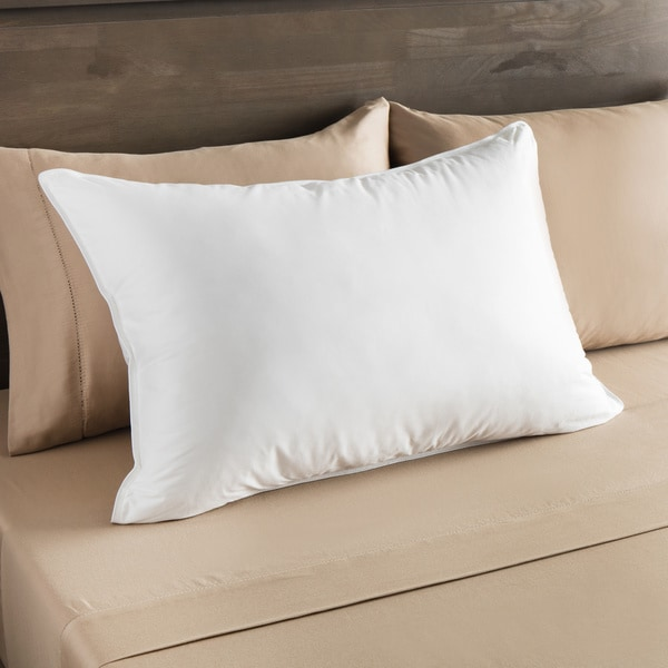 European Heritage Everest Medium Density Down Alternative Pillow - White