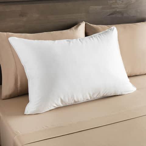European Heritage Everest Medium Density Down Alternative Pillow - White