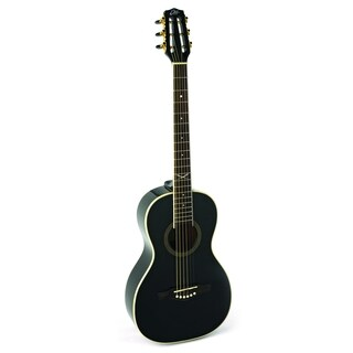 Eko Guitars NXT Series 06217034 Black Parlor Acoustic Guitar