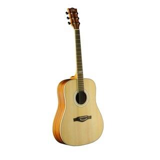 Eko Guitars 06217083 TRI Series Dreadnought Natural Wood 40-inch x 18-inch x 5-inch Acoustic Guitar