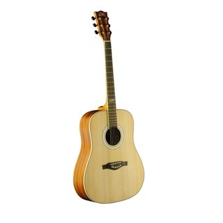 Eko Guitars 06217083 TRI Series Dreadnought Natural Wood 40-inch x 18-inch x 5-inch Acoustic Guitar