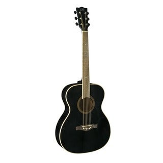 EKO Guitars NXT Series Black Auditorium Acoustic Guitar