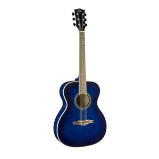 Eko Guitars 06217017 NXT Series Blue Sunburst Auditorium Acoustic Guitar