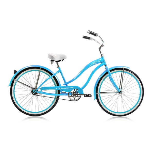 Rover 26-inch Baby Blue Single-speed Beach Cruiser