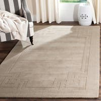 Martha Stewart by Safavieh Deco Frame Wild Turkey Wool Rug - 4' x 6'