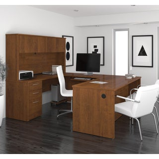 "Bestar Embassy 71"" U-shaped desk"
