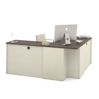 Bestar Prestige + 3-Drawer Corner Desk
