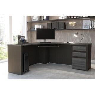 Bestar Prestige + Corner Desk including one pedestal