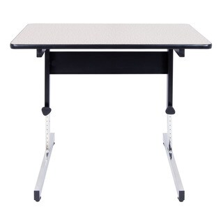 Bbf 48x24 Inch Stand Up Motorized Adjustable Desk Table 17356252 Shopping