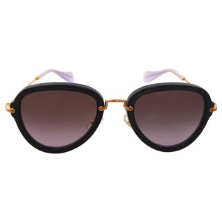 Miu Miu MU 03QS 1AB3H0 - Black/Purple